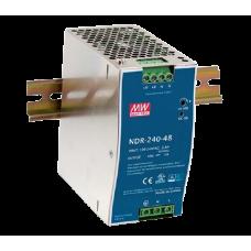 Блок питания на DIN-рейку MEAN WELL NDR-240-24
