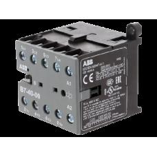 Миниконтактор 4-х полюсный 12A 220В AC (400В AC3) ABB В7-40-...