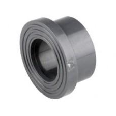 QRI. Адаптер фланцевый, PVC-U, раструб / рифленая уплотн. по...
